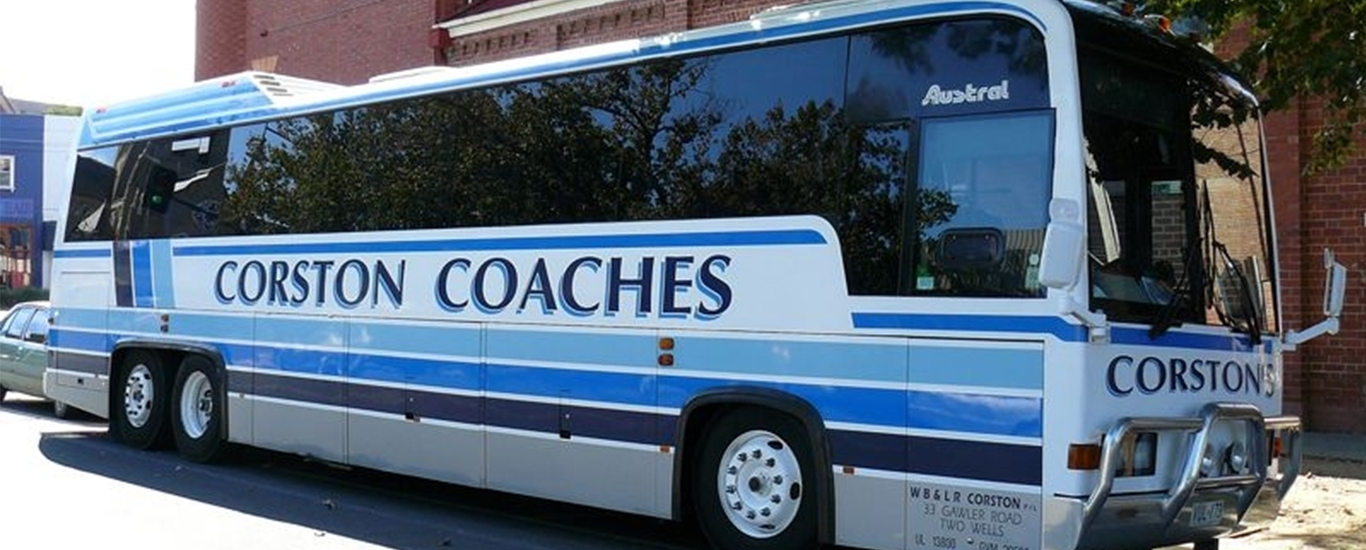 Corston Coaches tours Adelaide